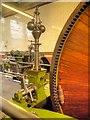 SD7922 : Steam Engine Close Up, Grane Mill by David Dixon