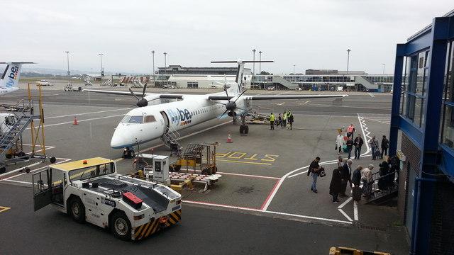 Glasgow Airport apron