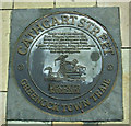 NS2876 : Greenock Town Trail by Thomas Nugent