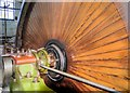 SD7922 : Mill Engine, Haslingden Grane Mill by David Dixon