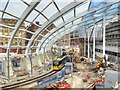 SJ8498 : New Roof Construction, Manchester Victoria Station by David Dixon
