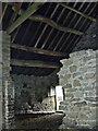 SK2181 : Stone barn interior by Stephen Burton