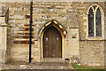 TL0083 : South doorway by Richard Croft
