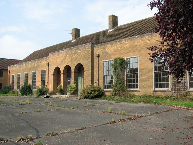 The former Officers' Mess