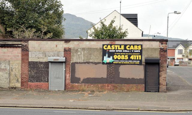 Derelict buildings, Greencastle, Newtownabbey (September 2014)