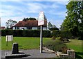 TM0019 : Abberton and Langenhoe, village sign and war memorial by Bikeboy