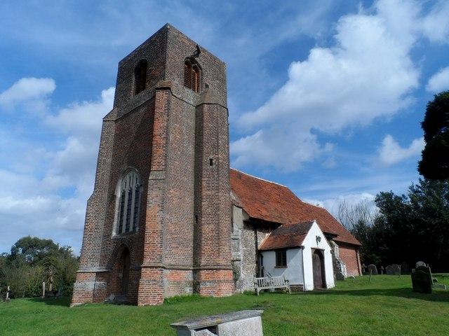 St Andrew's church, Abberton
