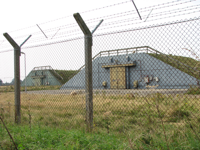 NATO munitions storage buildings