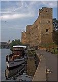 SK7954 : Newark Castle and riverside path by Paul Harrop