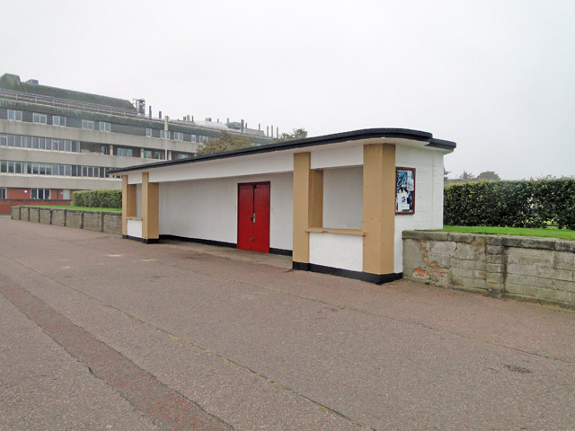 The former gunhouse of the Grand Battery at Lowestoft by Adrian S Pye