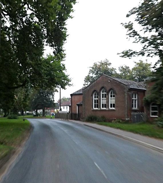 Crossing Road & The Old School
