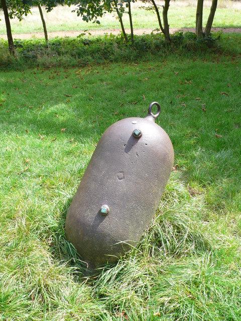 Cast Iron Receiver Vessel. Alexandra Park