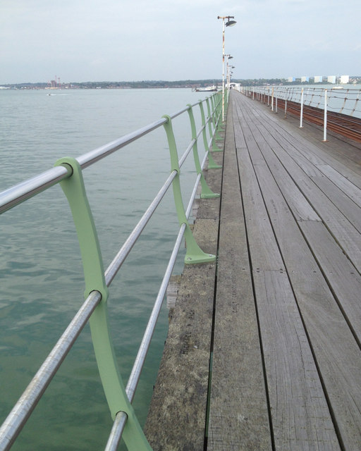 Railing / balustrade, Hythe Pier