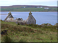 NR2970 : Cottage at Crois Mhòr by Oliver Dixon