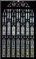 SK7053 : West Window, Southwell Minster by J.Hannan-Briggs