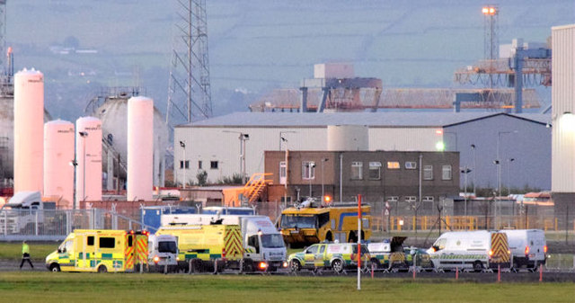 Rescue exercise, Belfast City Airport - September 2014(2)