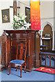 TQ5493 : St Thomas, Church Lane, Noak Hill, Havering - Pulpit by John Salmon