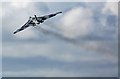 NS3527 : A fly past by Avro Vulcan XH558 at Prestwick Airport by Walter Baxter