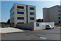 ST3187 : Four storey office block, Usk Way, Newport by Jaggery