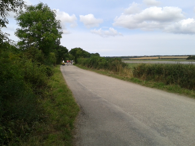On the Camel Trail heading to Padstow