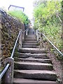 SD6178 : The Radical Steps, Kirkby Lonsdale by Philip Platt