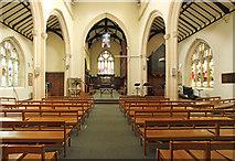 TQ4077 : St John the Evangelist, Stratheden Road, Blackheath - East end by John Salmon
