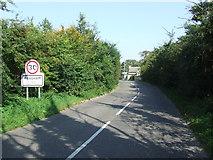TM3464 : Entering Rendham by Keith Evans