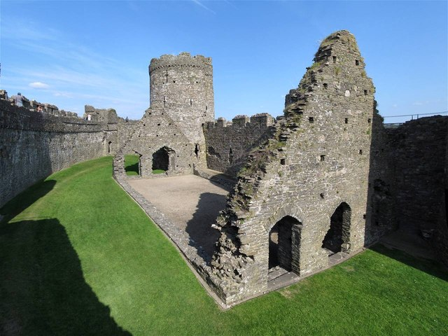 The Later Hall in Kidwelly Castle