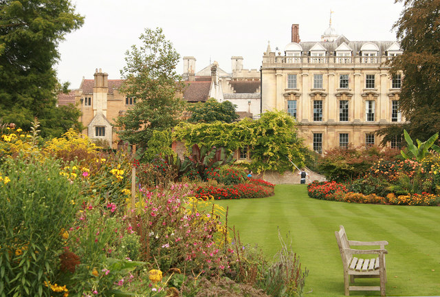 Clare College from Clare Gardens