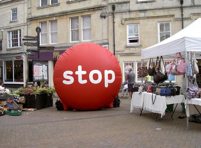 'Stop!'