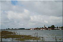 SU8003 : Bosham Harbour, Sussex by Peter Trimming