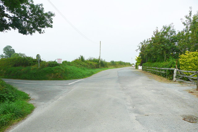 Road junction near Knocktopher