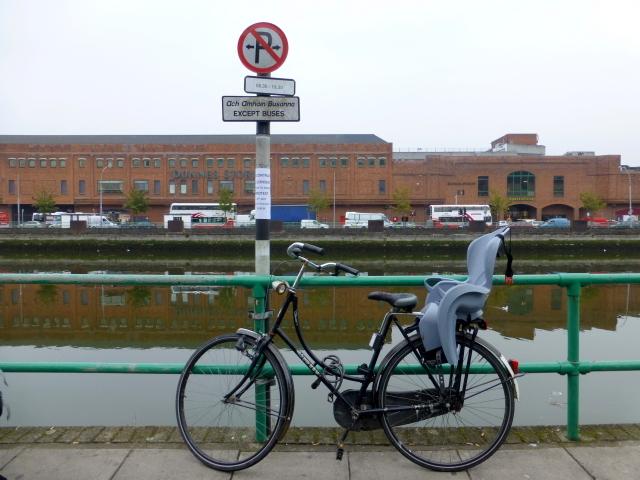 Bike, St. Patrick's Quay, Cork