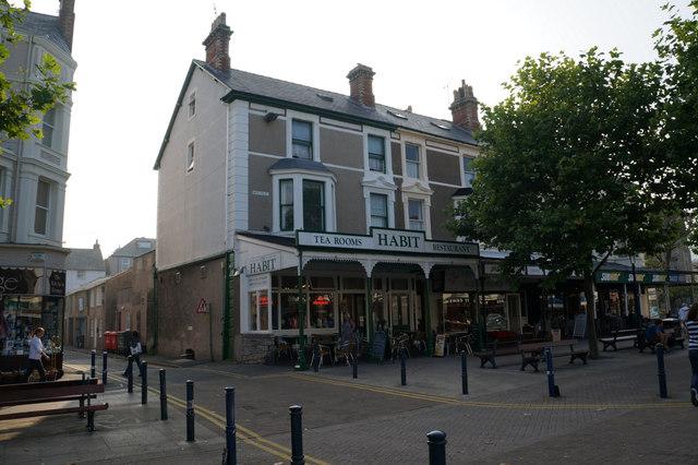 The Habit Tearooms on Mostyn Street, Llandudno by Ian S