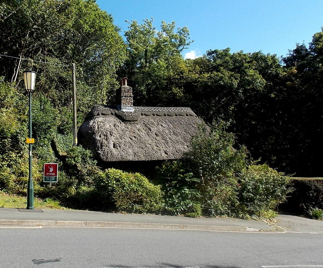 Thatched roof in Lynton