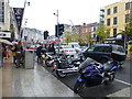 W6771 : Motorbikes, Cork by Kenneth  Allen