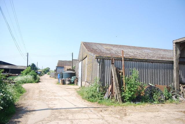 Little Bayhall Farm by N Chadwick
