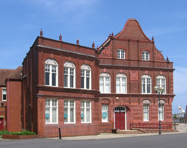 Hartlepool - Design College - from south