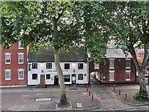 SK3436 : Friar Gate: The Greyhound by John Sutton
