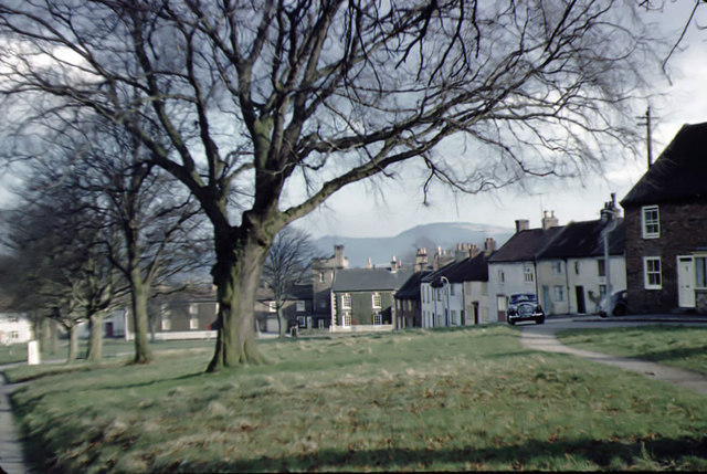 Hutton Rudby village green March 1959