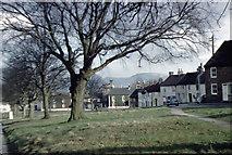 NZ4706 : Hutton Rudby village green March 1959 by Tony Whelan (Deceased)