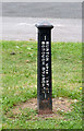 SK2425 : Burton Upon Trent Borough Boundary by Alan Murray-Rust
