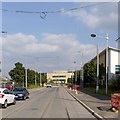 SK5638 : Enterprise Way at The Triangle by Alan Murray-Rust