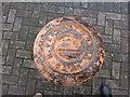 W7966 : Mooring post, Cobh by Kenneth  Allen
