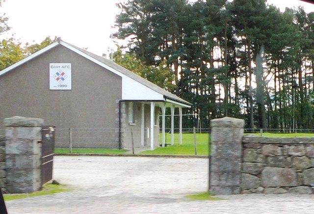 Echt AFC pavilion