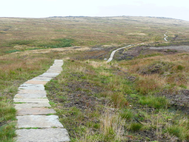 The Pennine Way, paved