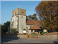 TQ0952 : St Martin's Church, East Horsley by Alan Hunt