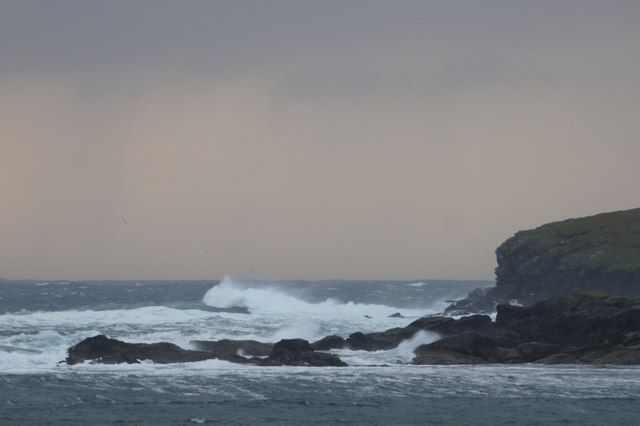 Waves on the Westing holms
