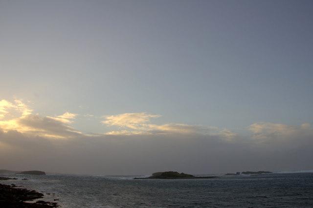 Westing holms at dusk