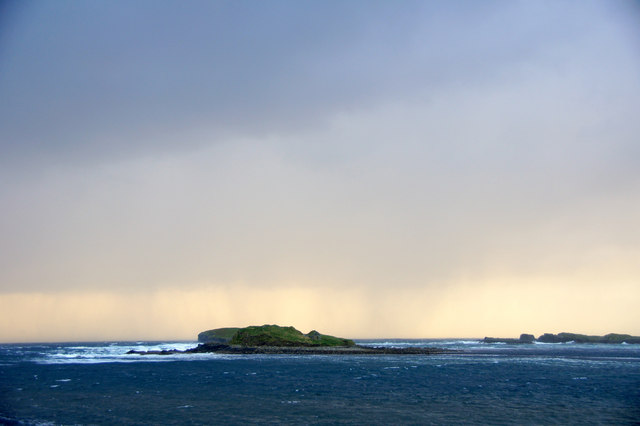 Approaching shower, Westing holms, dusk